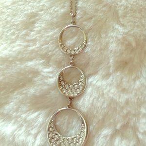 Swarovski crystal necklace and bracelet set